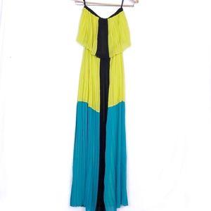 1078 bebe strapless maxi dress